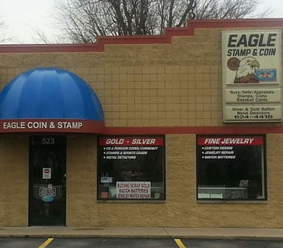 eagle coin stamp & jewelry co store o'fallon illinois